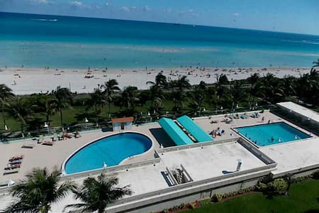 Ocean front bldng~private room SoBe