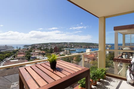 Sydney Harbour & Manly Beach views - Manly - Apartemen