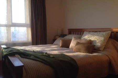 Cozy home!city center.河景高层公寓! - Shenyang - Bed & Breakfast