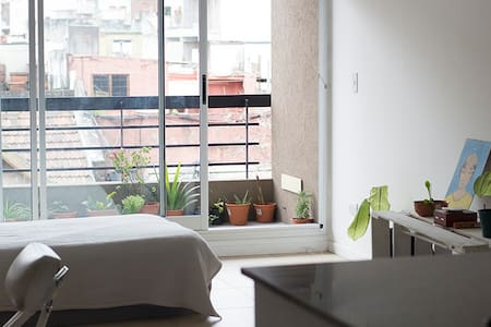 Modern, bright and quite studio in Saavedra - Buenos Aires