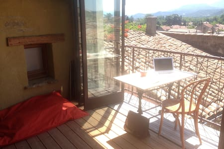 Superb pied-à-terre between Vercors and Provence - Apartment