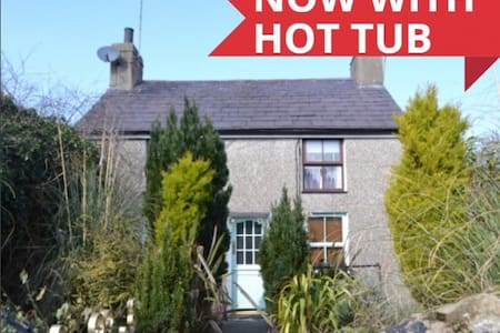 Cottage at Edern WITH HOT TUB! - House