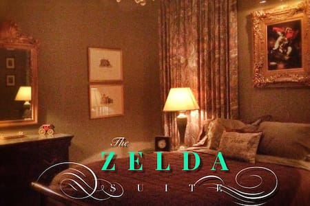 The Harwood Cottage Zelda Suite - Macon
