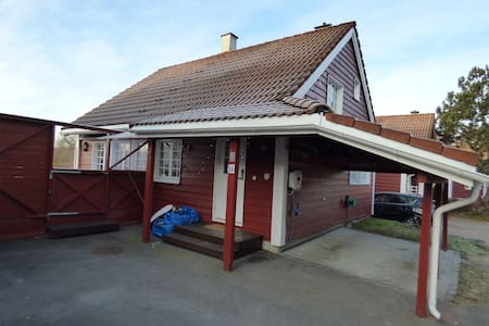 House, Oppegard 26 min by train to Oslo Central - Oppegard - Casa