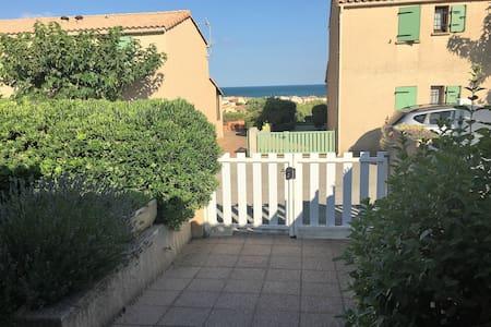 Villa T4 avec vue mer, proche de la plage, - Fleury - Huis