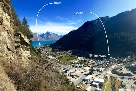 Great Views & Close to Town - Queenstown - Casa