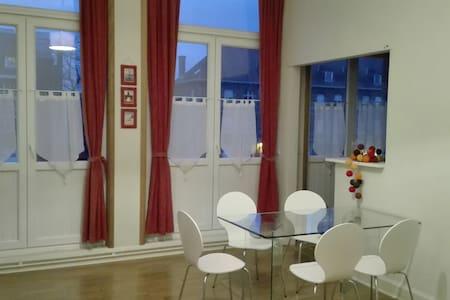 Appart centre le long de l'Escaut - Tournai - Appartamento