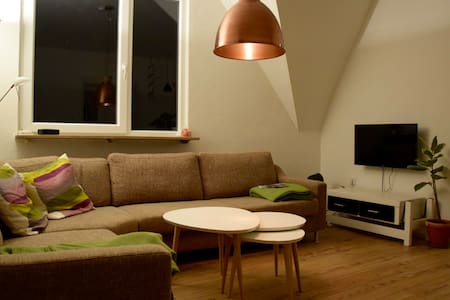 Spacious Flat in the Center - Flensburg - Apartamento
