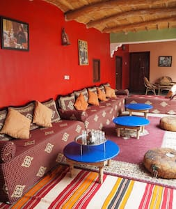 Family room in a friendly Berber homestay - Imintanoute - Guesthouse
