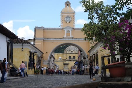 Antigua Family Homestay 3 Meals/Day - Antigua Guatemala - Haus
