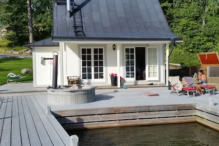 Beautiful cottage by the ocean 30m2 - Chatka