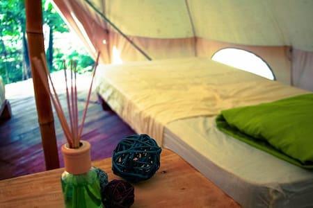 Glamping: 2 single beds - Tamarindo - Tipi