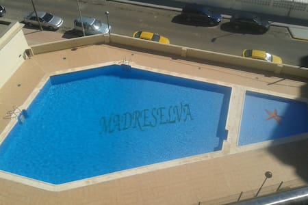 Fine beach apartment, adult and child friendly. - Wohnung
