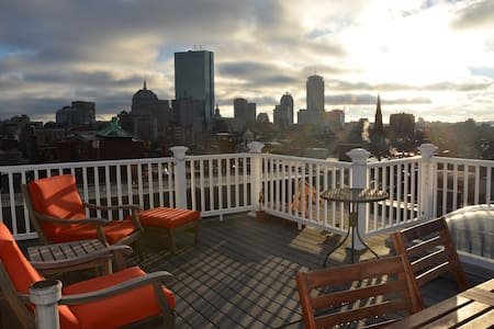 Beacon Hill Penthouse w/ Roofdeck