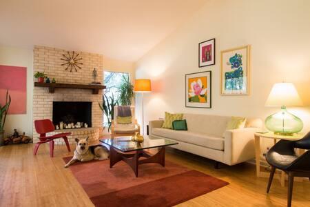 Retro-Modern  Home - Austin