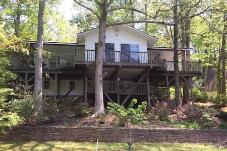 Quiet Lakefront Home Tucked Away in the Smoky Mts. - Robbinsville