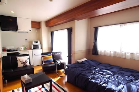 Nearby Central Kobe & 24min to Osaka portable WiFi - Appartement
