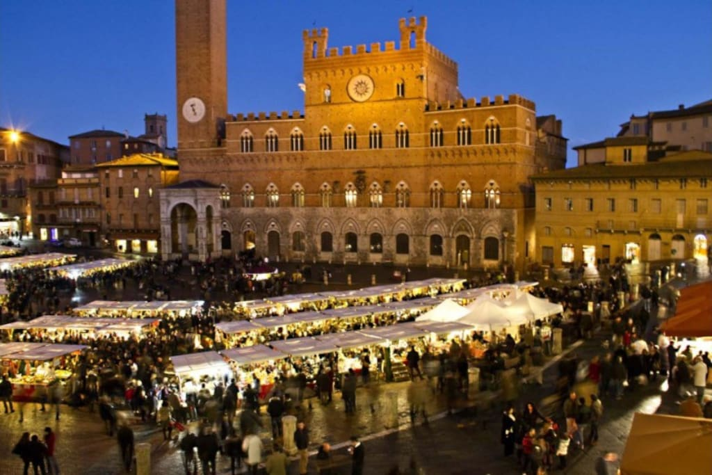 Christmas time in Siena