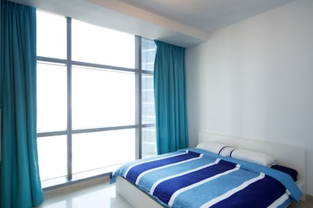 Modern 1Br+ensuite with great view - Abu Dhabi - Pis