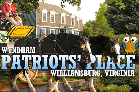 Patriot's Place ツ Equipped Studio Resort Condo - Williamsburg - Appartement en résidence