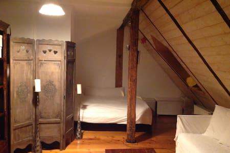 Schoene Dachwohnung im Zentrum - Apartamento