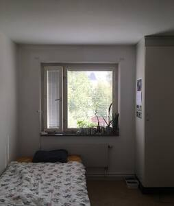 Room for rent with a single bed - Apartment