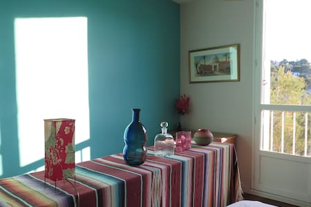 A colorful room in Cassis - Wohnung