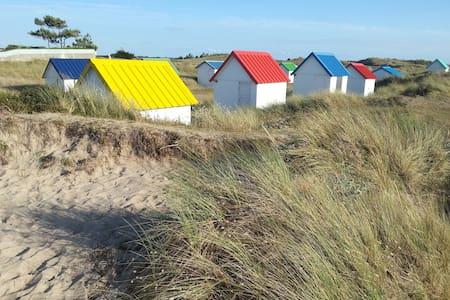 Détente à la plage - Gouville-sur-Mer - Hus