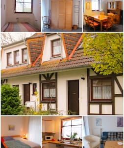 Gemütliche Ferienwohnung auf Rügen in Gustow - Gustow - Appartement