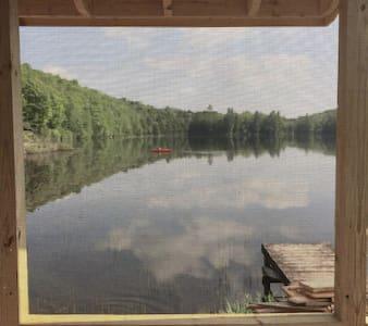 Curtis Pond -sunny, lovely house for 4 seasons. - Ev