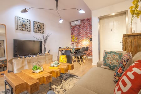 【Aster】5br,150sqm!   Wonderful Living room @FFC - Shanghái - Departamento