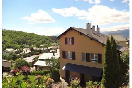 Belle maison sud vue montagne - Err - Casa