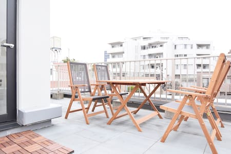 42㎡ Spacious terrace Azabujuban Roppongi wifi!! - Huoneisto
