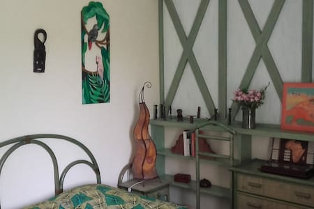 Chambre AFRIKA du QUEYROUX - Maison