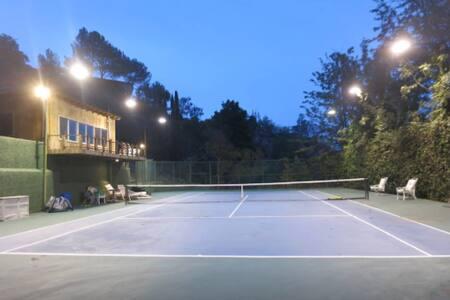Beverly Hills Estate Pool & Tennis