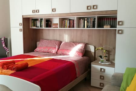 Relaxing Bedroom and private bathroom in Verona - Appartamento