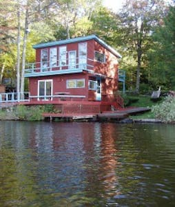 Entire Cabin on Crooked Pond Cabin - Plainfield - Cabin