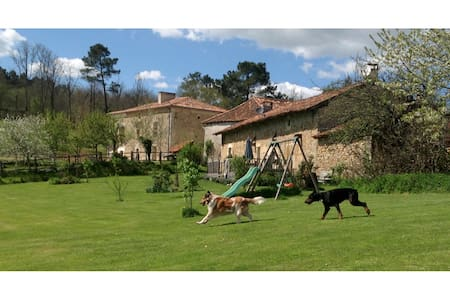 Country cottage set in 100 acres near Brantome - Saint-Pierre-de-Côle - Dom