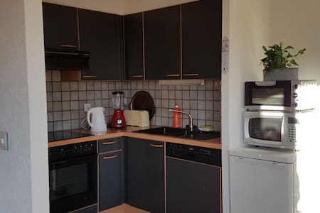 Appartement confortable, lumineux, cosy, commerces - Uvrier