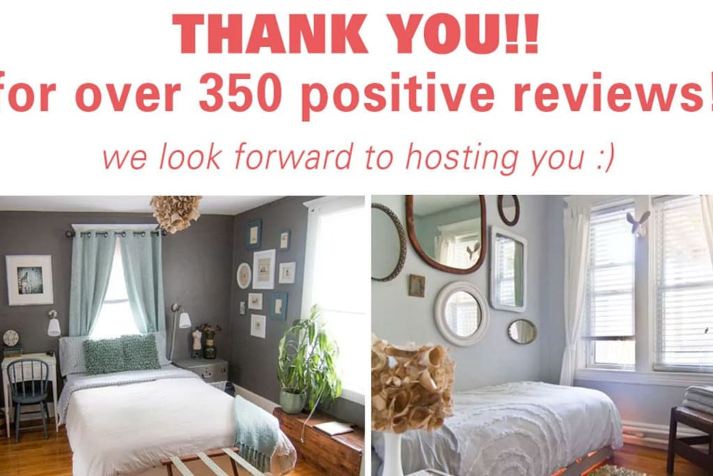 We are so grateful to all who have stayed with us...Hope we can make your stay just as good!