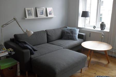 Cute sunny room in Copenhagen - Frederiksberg - Apartment