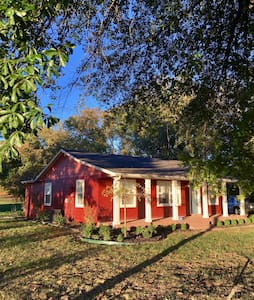 "The ""Little Red House"" on Shores Avenue - Cave Springs"