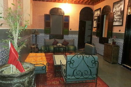 Privet Room B&B in Riad Mamahous/Medina, Marrakech - Marrakech - Bed & Breakfast