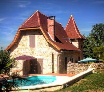 Maison avec piscine - Huis