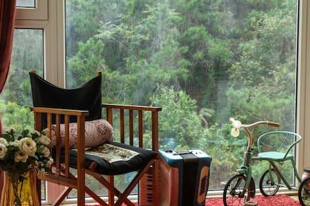 面朝大海(shan),春暖花开。一室一厅全开放复古山景公寓 - 大连