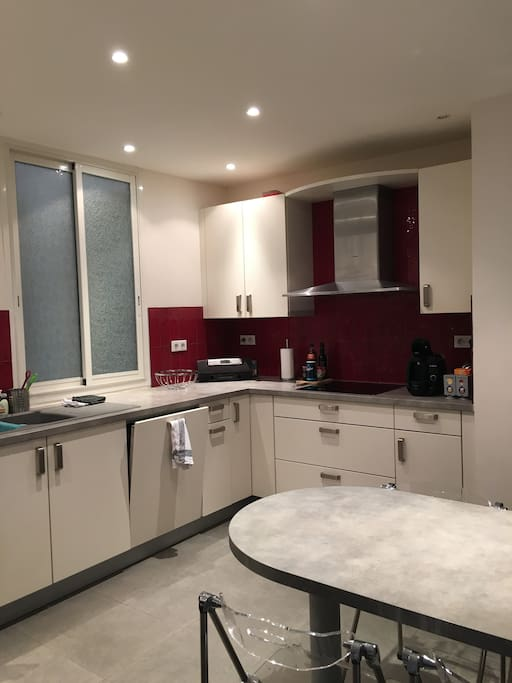 Large kitchen, full equiped, all new.