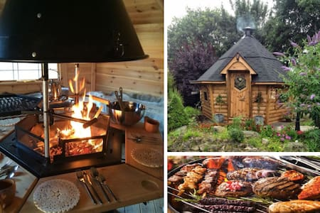 Couples dog friendly retreat with views & BBQ Hut! - Altro