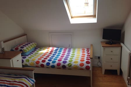 Quiet twin beds en-suite in SW19 - London