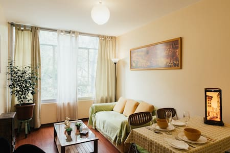 Bellas Artes Subway Downtown Flat - Santiago - Appartement