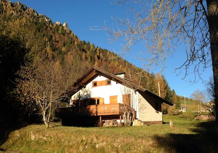 Relax in Baita - Dolomiti Trentino - Transacqua - Cabaña